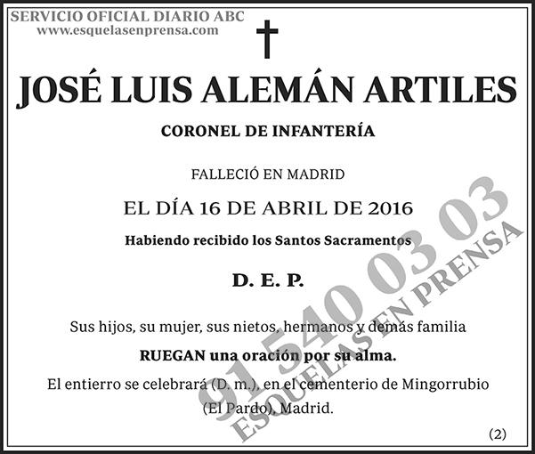José Luis Alemán Artiles